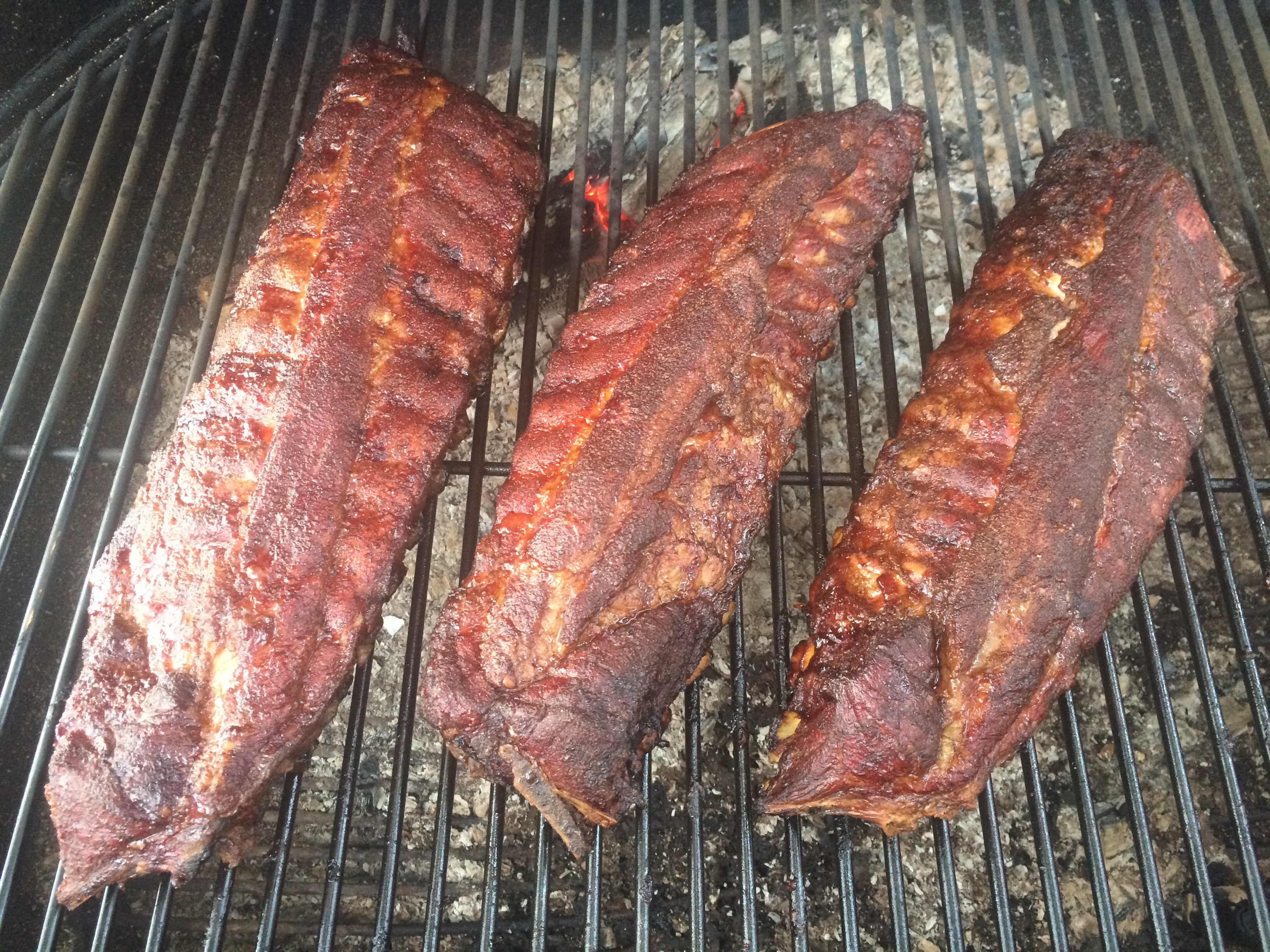 Smoked BBQ Baby Back Ribs