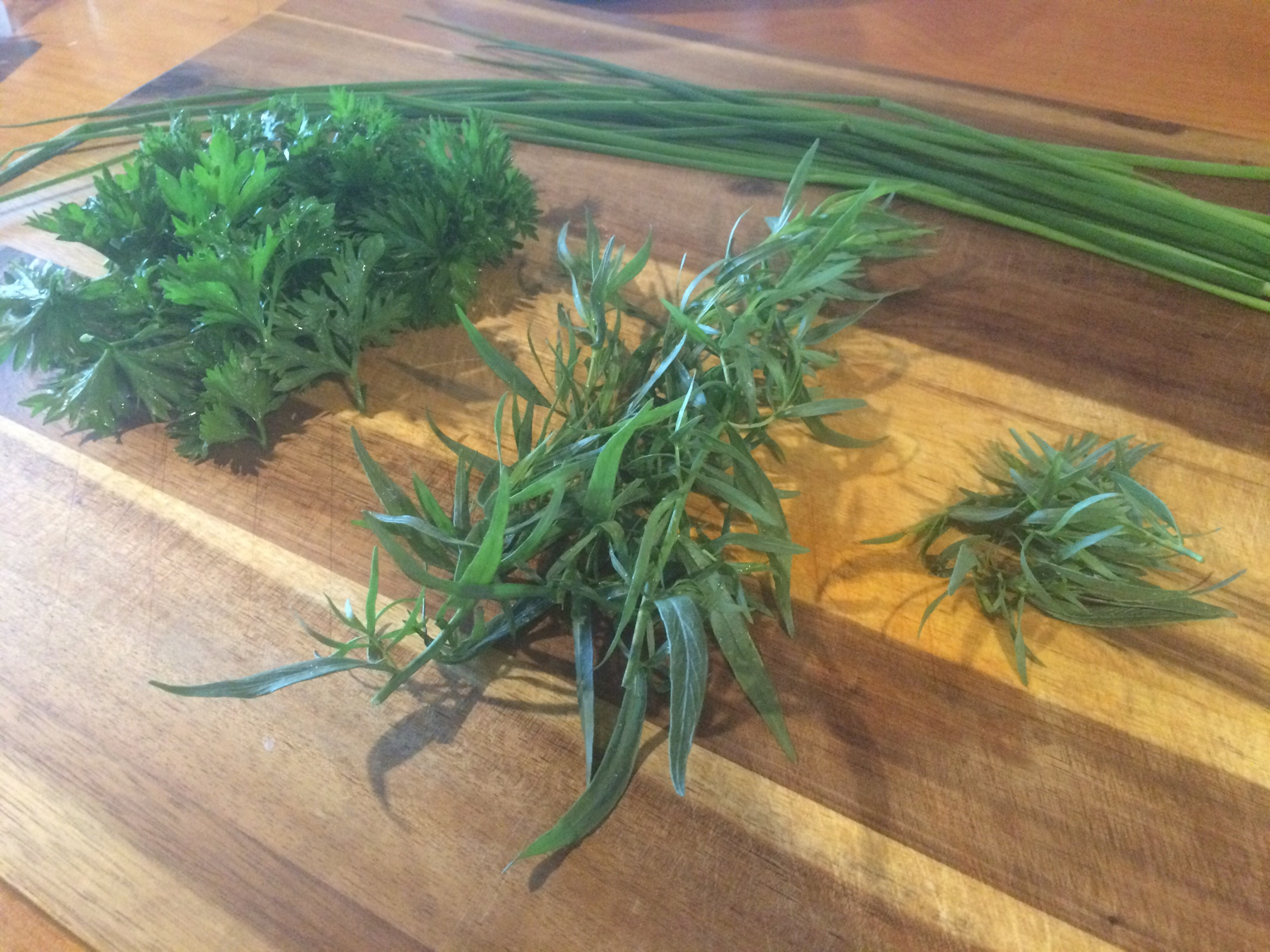 tarragon parsley chives