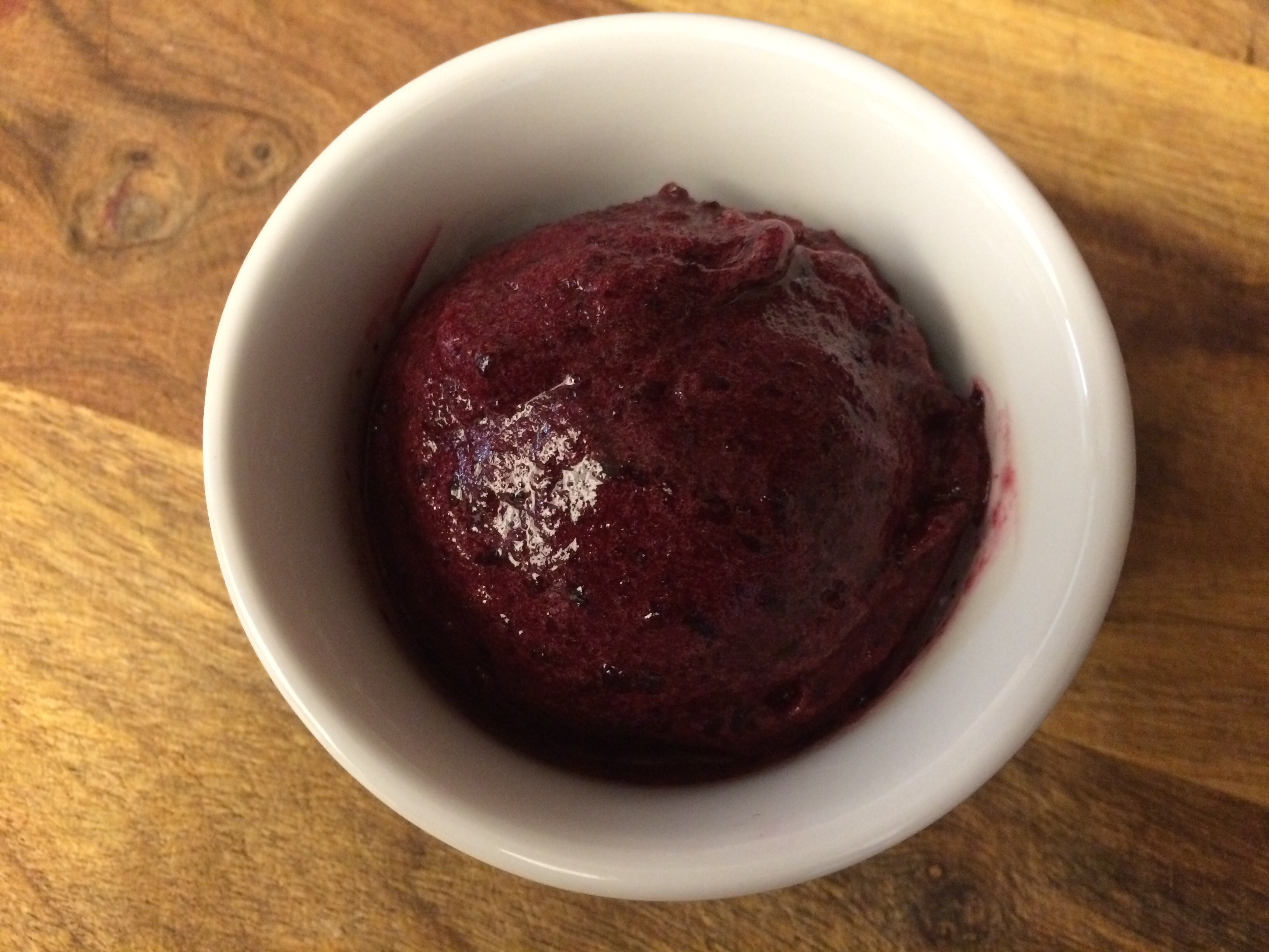 Wild Blueberry Lemon Sorbet